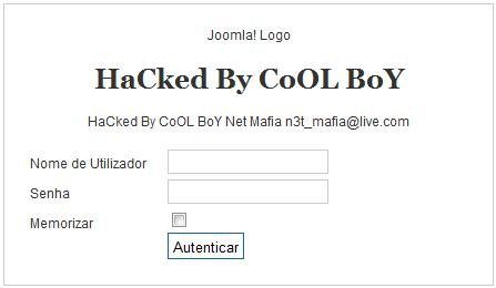 rendigold.pt hackeada por CoOL BoY