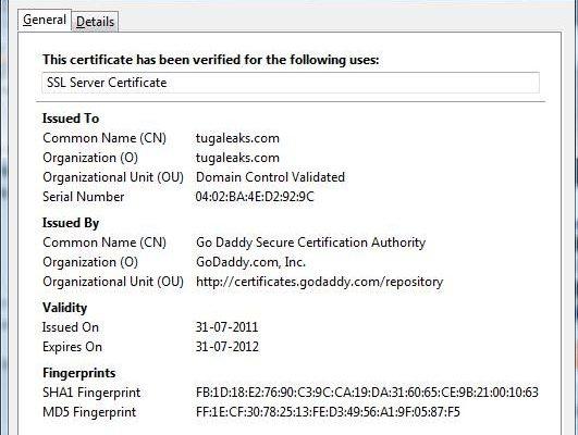 Tugaleaks agora com SSL
