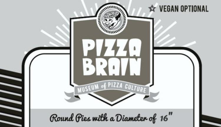 Logo de Pizza Brain - Museum of Pizza Culture, Filadelfia