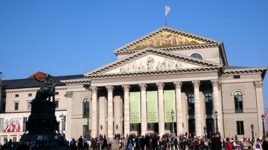 Nationaltheater de Munich, hogar de la Ópera Estatal de Baviera
