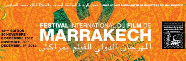 Cartel Oficial del Festival Internacional de Cine de Marrakech 2012