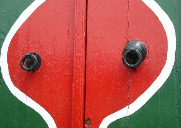 Detalle de puerta en Hammamet Foto (c) Tu Gran Viaje