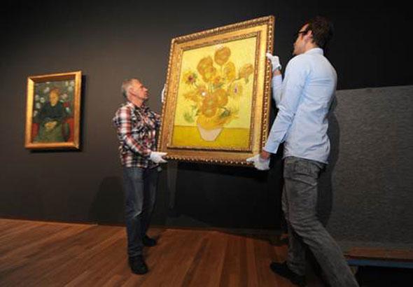 Los Girasoles vuelven al Museo Van Gogh. Foto: Martijn van den Dobbelsteen