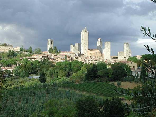 San Gimignano, Toscana
