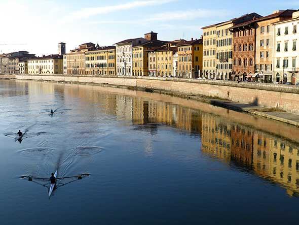 El Lungarno de Pisa