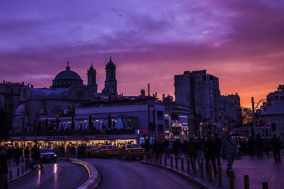 Viñeta de la plaza Taksim | Tu Gran Viaje
