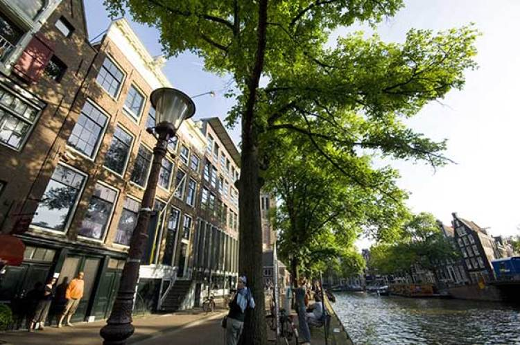 Tentaciones de Ámsterdam. Museo de Ana Frank. Foto © Turismo de Holanda