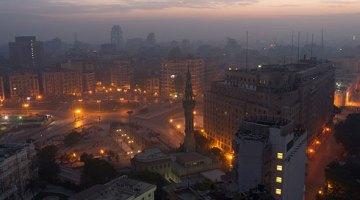 Plaza El Tahrir de El Cairo a la primera hora de la mañana. Foto CC Frank Schulenburg