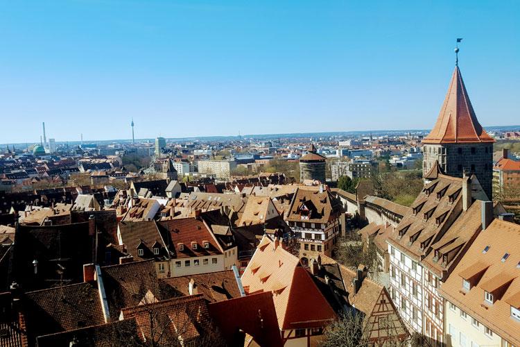 Panorámica de Nuremberg desde el Castillo. © Tu Gran Viaje