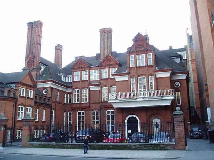 Sede de la Royal Geographical Society en Kensington, Londres