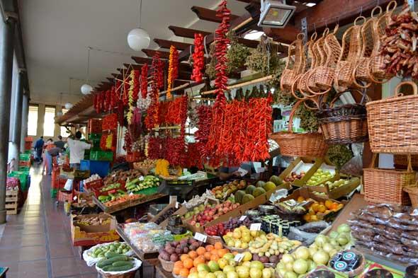 Mercado de Lavradores en Funchal, Madeira. Foto (c) Javier Olivares