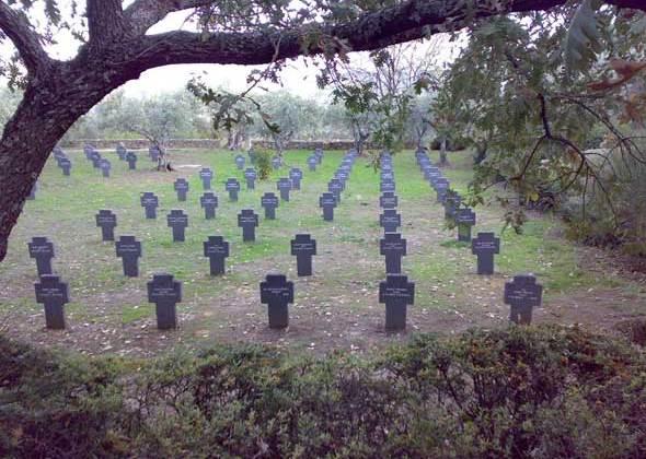 Cementerio Alemán de Cuacos de Yuste. Foto (c) Francisco Jódar