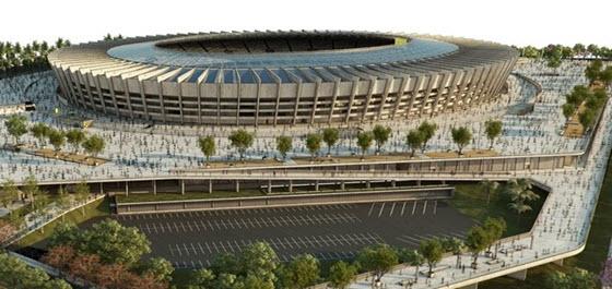 Estadio Minerao de Belo Horizonte