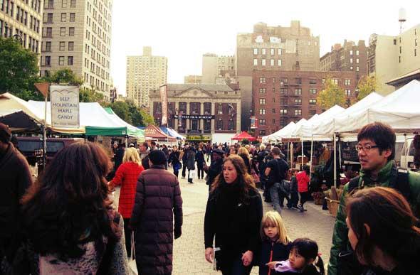 El Union Square Market es punto de encuentro para los foodies neoyorquinos
