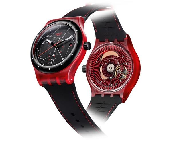 Así es el SISTEM51 de Swatch. El primer reloj automático formado por 51 partes.