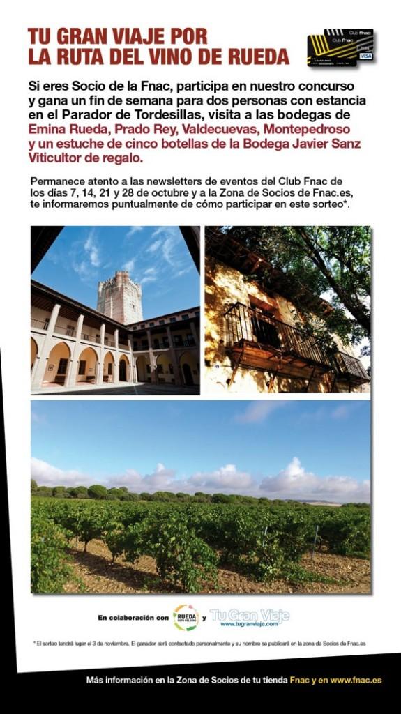Concursos Tu Gran Viaje por la Ruta del Vino de Rueda