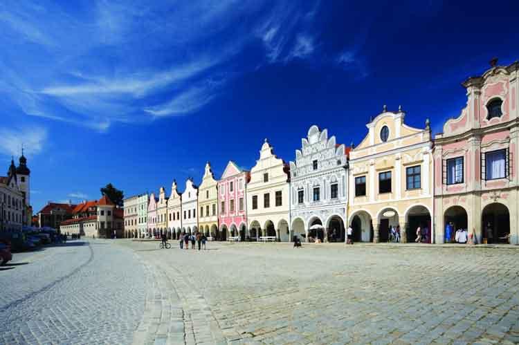 Centro histórico de Telč