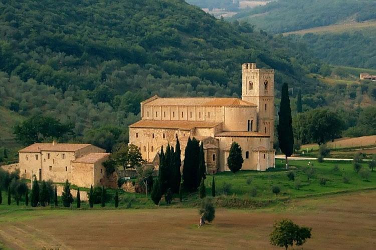 Sant'Antimo, Toscana, Italia