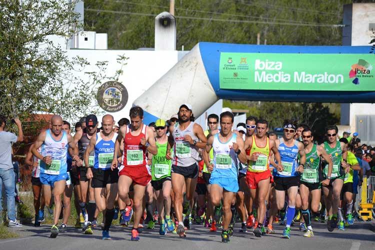 Media Maratón de Ibiza.