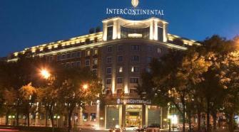 Fachada del Hotel Intercontinental de Madrid