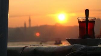 Atardecer en Estambul, Turquía