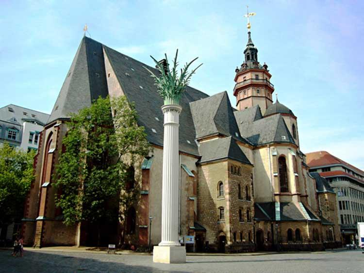 Exterior de la Nikolaikirche de Leipzig. Foto © Leipzig Travel