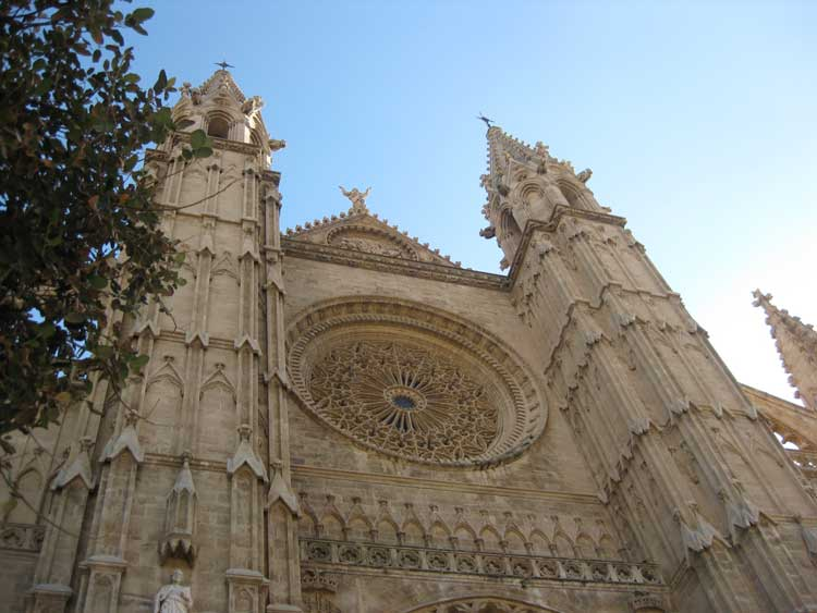 La bellísima Seu de Palma de Mallorca. Foto © Clemente Corona.