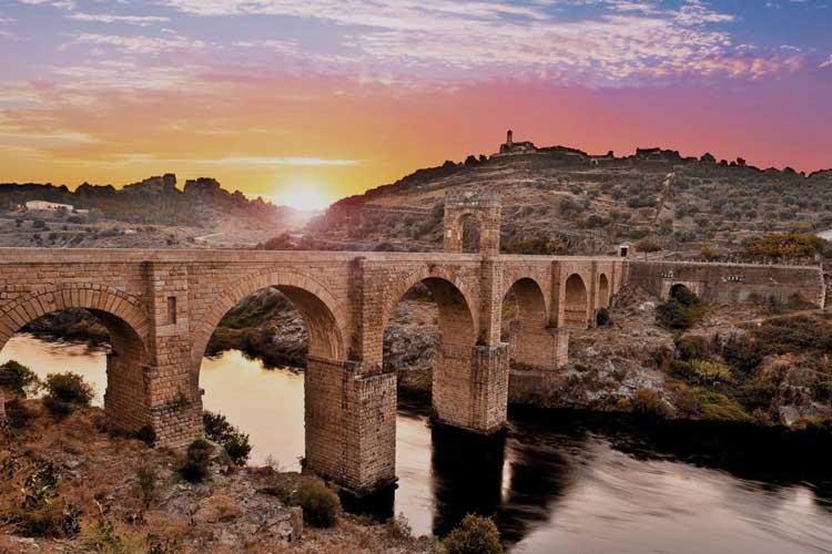 Puente de Alcántara, Cáceres.