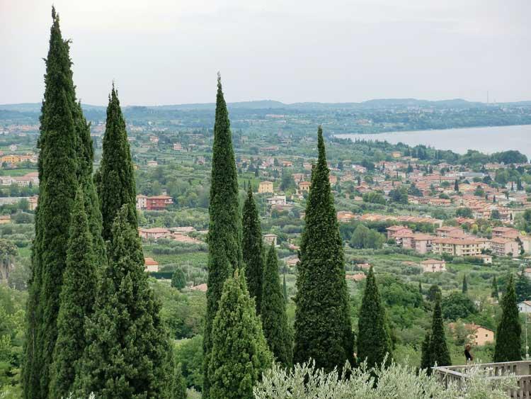 Panorámica de Bardolino, Verona