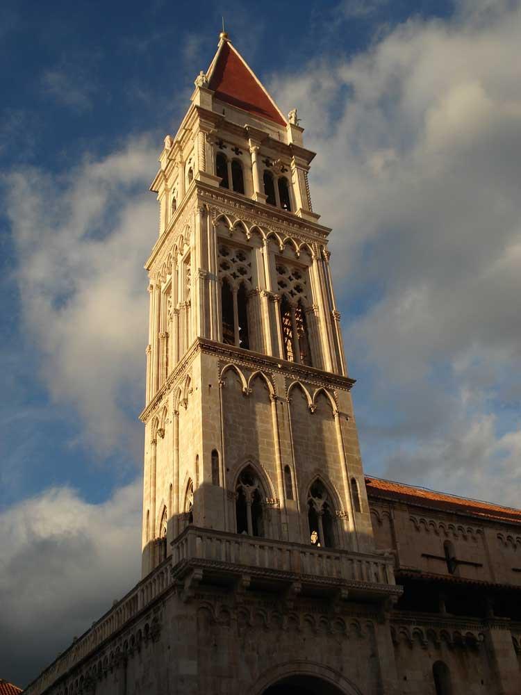 Campanario de la catedral de Trogir. © Tu Gran Viaje