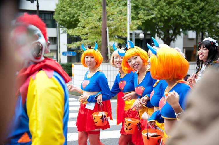 Desfile de Halloween en Kawasaki, Japón
