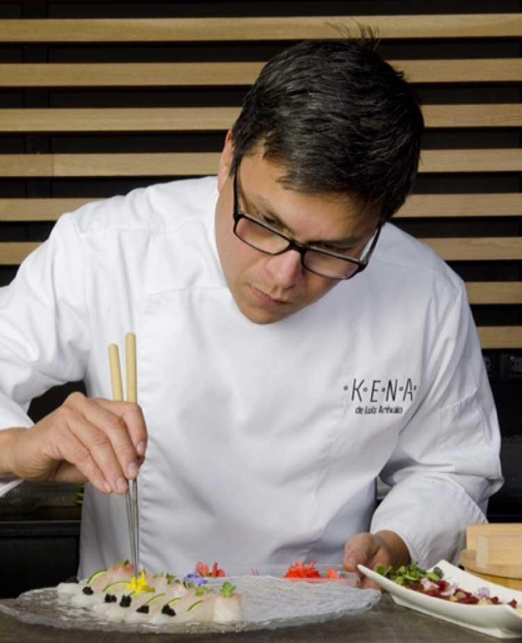 Luis Arévalo, chef del restaurante Kena
