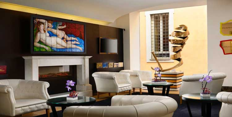 First Luxury Art Hotel Roma. Priceless Madrid. MasterCard