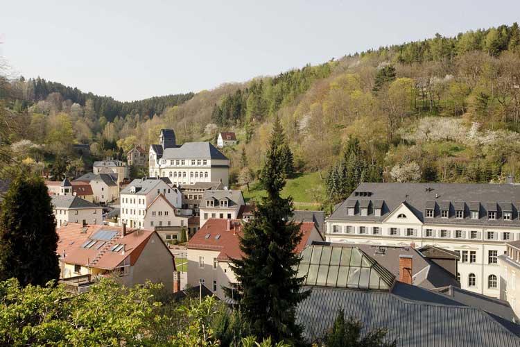Vista panorámica de Glashütte. Tu Gran Viaje a Glashütte