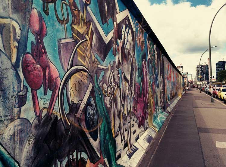 East Side Gallery. Foto © Tu Gran Viaje