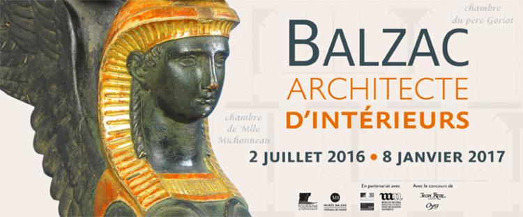 """Hasta el 8 de enero de 2017 puede visitarse la muestra """"Balzac: Arquitecto de Interiores"""" en el Château de Saché.. Tu Gran Viaje por el Valle del Loira"""