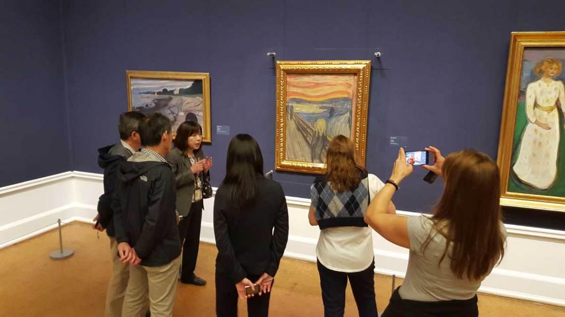 El grito de Munch. Galería Nacional de Oslo. © Tu Gran Viaje