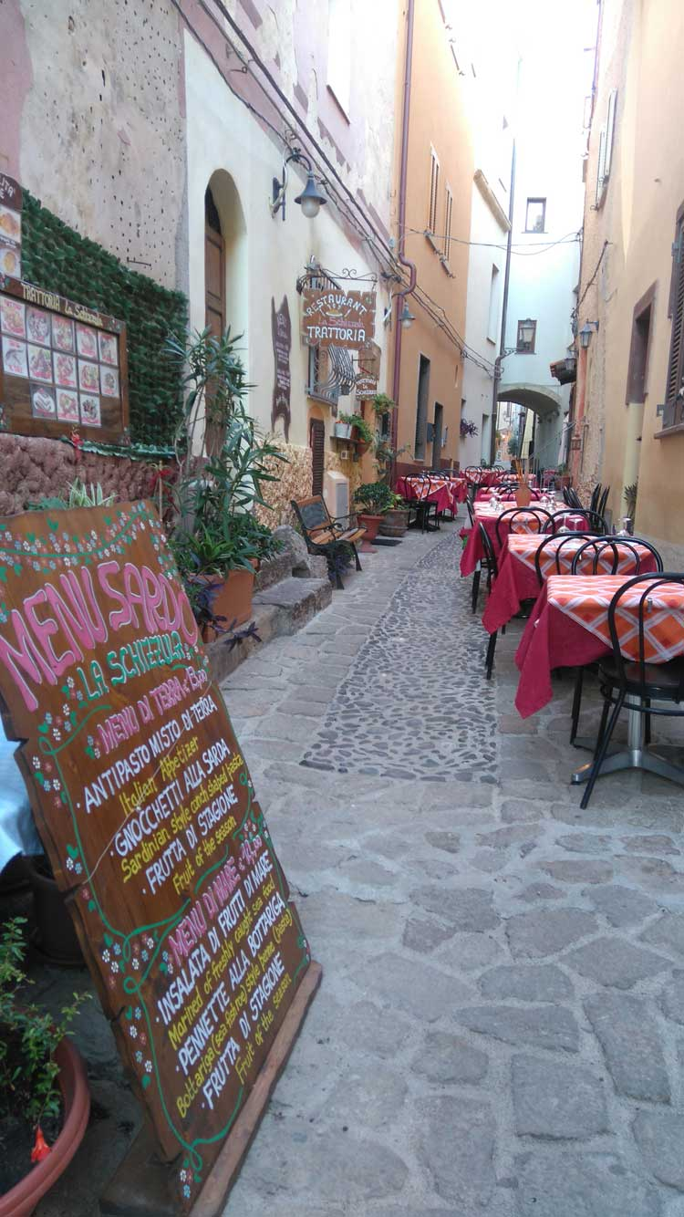 Dónde comer en Cerdeña. Viajar a Cerdeña en Otoño. Tu Gran Viaje