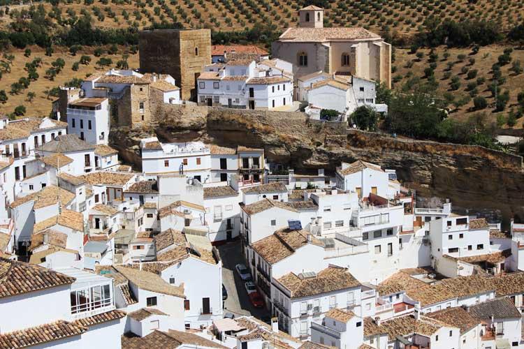 Setenil de las Bodegas, Cádiz. siete maravillas rurales toprural 2016