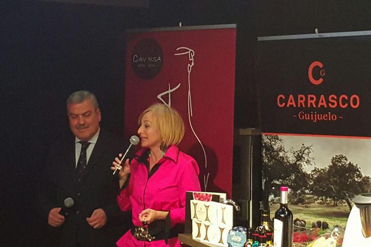 Luis Pacheco, de Gold Gourmet, y Pilar Carrizosa. © Tu Gran Viaje