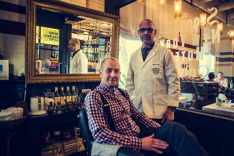 El Cut & Shave de la NY Shaving Company. Seagram´s New York Hotel at Only YOU