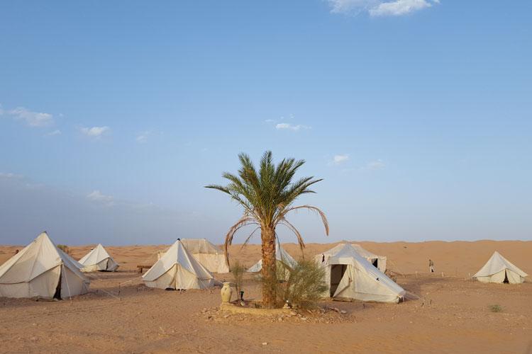 campamento Zmela. Turismo activo en Túnez. Tu Gran Viaje