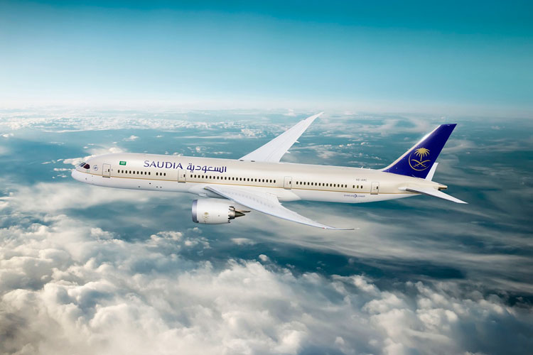 Dreamliner Saudia Airlines