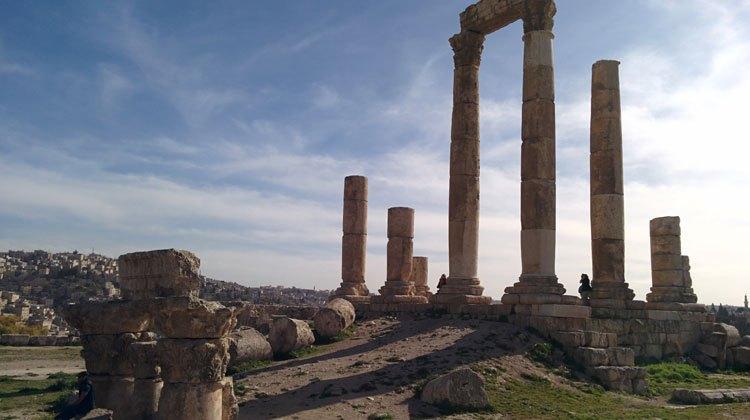 Viajar a Amán. Templo de Hércules, Ciudadela de Amán. © Tu Gran Viaje