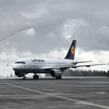 Lufthansa aterriza por primera vez en Santiago de Compostela en Tu Gran Viaje