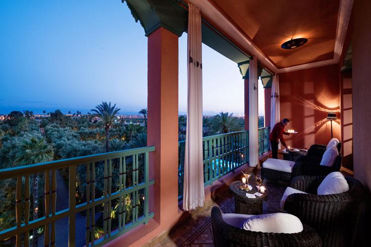 Vistas sobre Marrakech. Hotel La Mamounia de Marrakech. Los mejores hoteles del mundo en Tu Gran Viaje