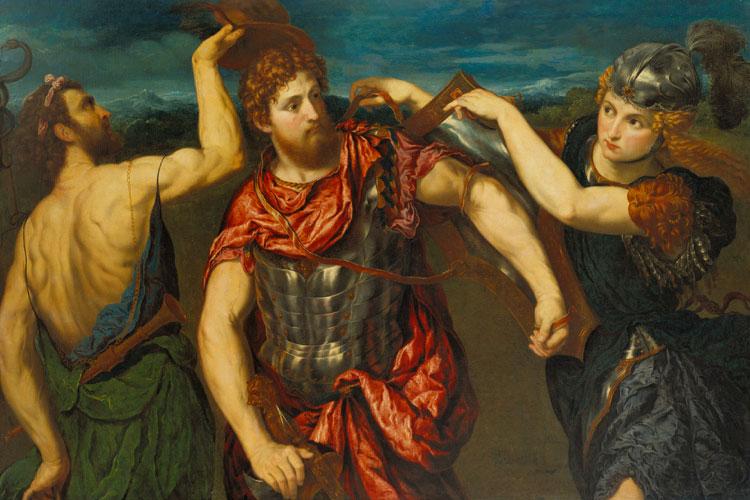Perseo armado por Mercurio y Minerva. Birimingham, Collection of the Birmingham Museum of Art. Foto © Sean Pathasena