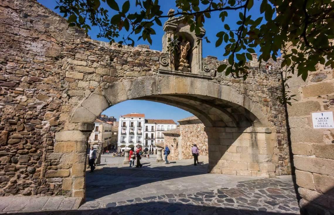 Judería de Cáceres. © Red de Juderías de España