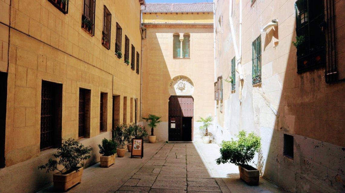 Entrada a la iglesia de Corpus Christi. © Clemente Corona - Red de Juderías de España | Judería de Segovia | Descubre Sefarad