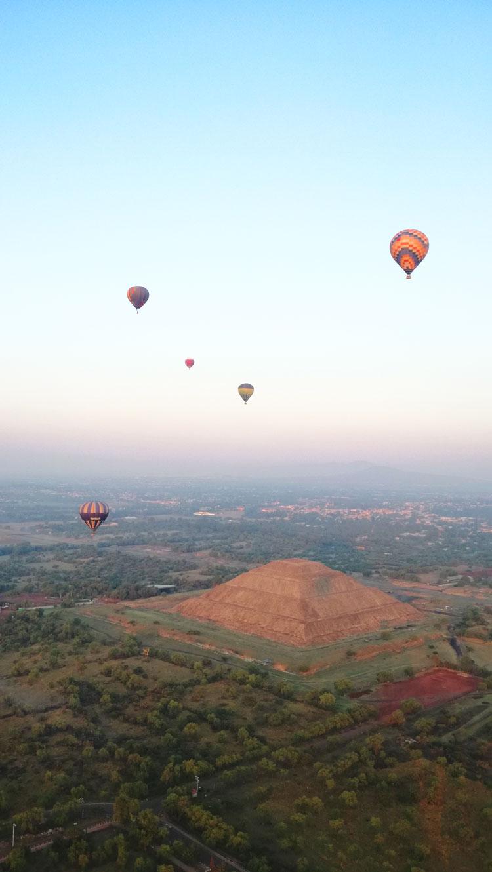 Sobrevolar en globo Teotihuacan, toda una experiencia viajera | Tu Gran Viaje